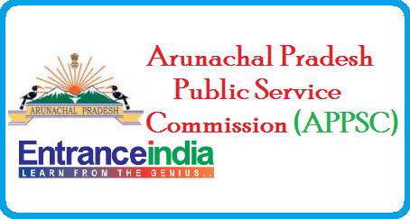 APPSC- Arunachal Pradesh Public Service Commission Exams ...