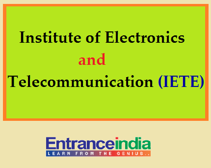 Institute of Electronics & Telecommunication Engineers (IETE)