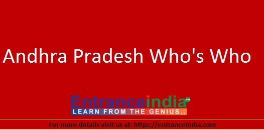 Andhra Pradesh Whos Who List